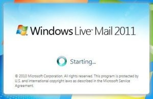 Repair Windows Live, screen 3
