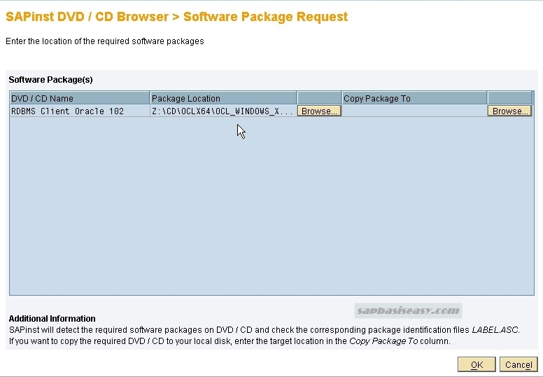 How to install SAP Database Instance - SAP Basis Easy