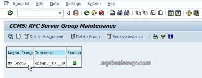 Server Group for Parallel Processing