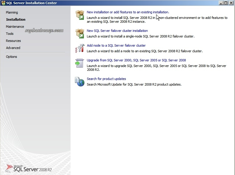 How to install SQL Server 2008 R2 for SAP