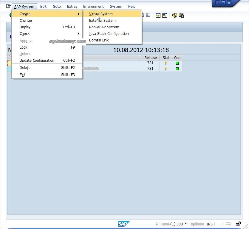 How to configure SAP Transport Route (STMS) - SAP Basis Easy