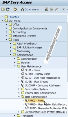 How to create SAP Single Role