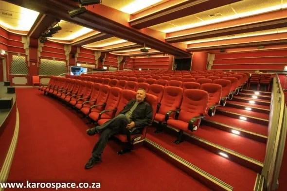 Co-owner Johnny Breedt in his country theatre dream-come-true.