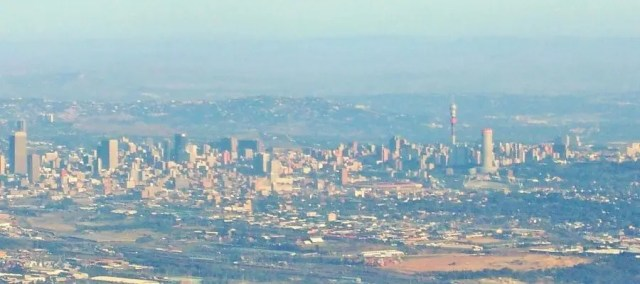 Johannesburg from the air - Heritage Portal - 2013