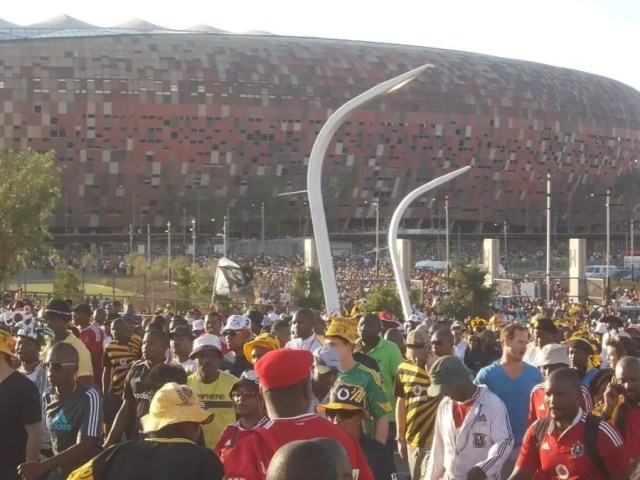 Soccer City after a game - Heritage Portal - 2014