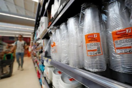 Image result for plastic cup aisles in supermarkets