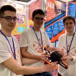 Mattia Scagliola, Samuele Marro e Alberto Ricatto, i tre studenti inventori di Pax