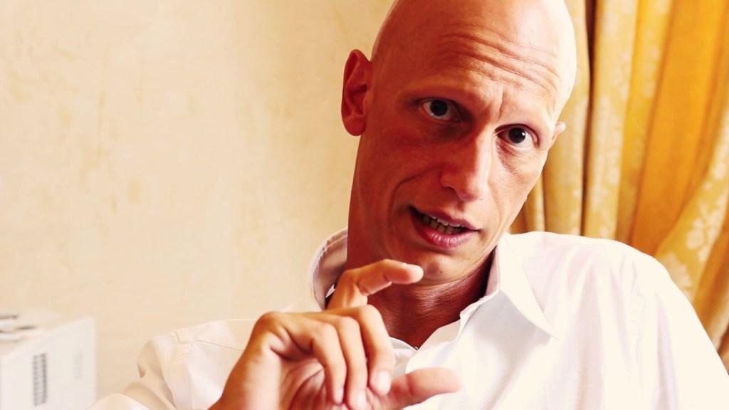Lo scrittore Giorgio Vasta