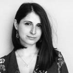 La poetessa Eleonora Rimolo (Il ritratto fotografico è di Daniele Ferroni)
