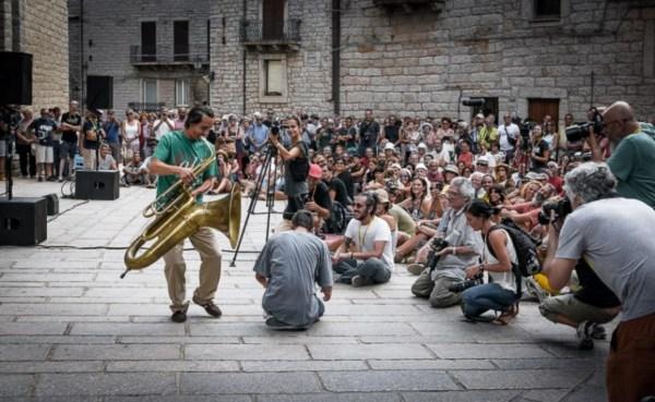 """Un momento del festival """"Time in jazz"""" di Berchidda (Ss) che Paolo Fresu ha creato nel 1988"""