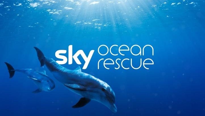 Sky Ocean Rescue, la campagna Sky per la salvaguardia degli oceani