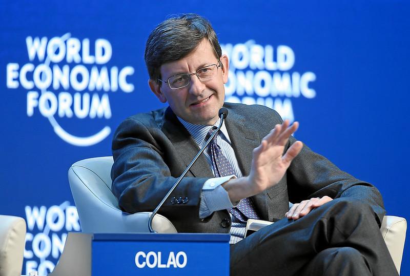 Il manager Vittorio Colao
