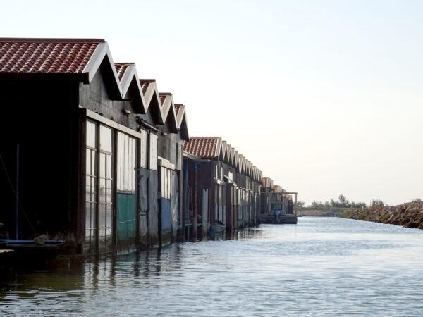I cavani di pesca, ricoveri per le barche dei pescatori