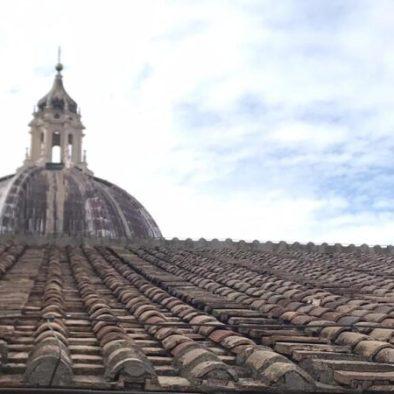 Il Cupolone visto dalla terrazza intermedia