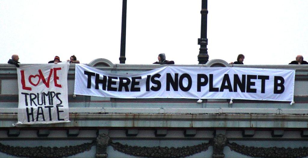 Protesta contro Trumo, Edimburgo
