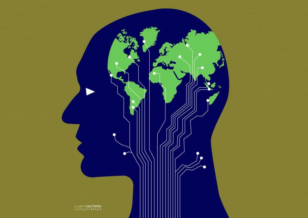 L'illustrazione di Valerio Vacchetta per Sapereambiente (Marzo 2021)