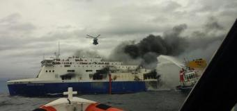Norman Atlantic: 5 morti, altri 60 da salvare