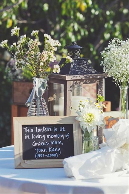 Sentimental Wedding Ideas Remembering Loved Ones