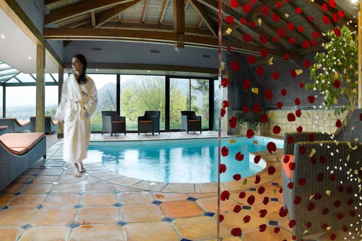 Hotel Les Tresoms et Spa  Forfaits Saint Valentin  partir de 175
