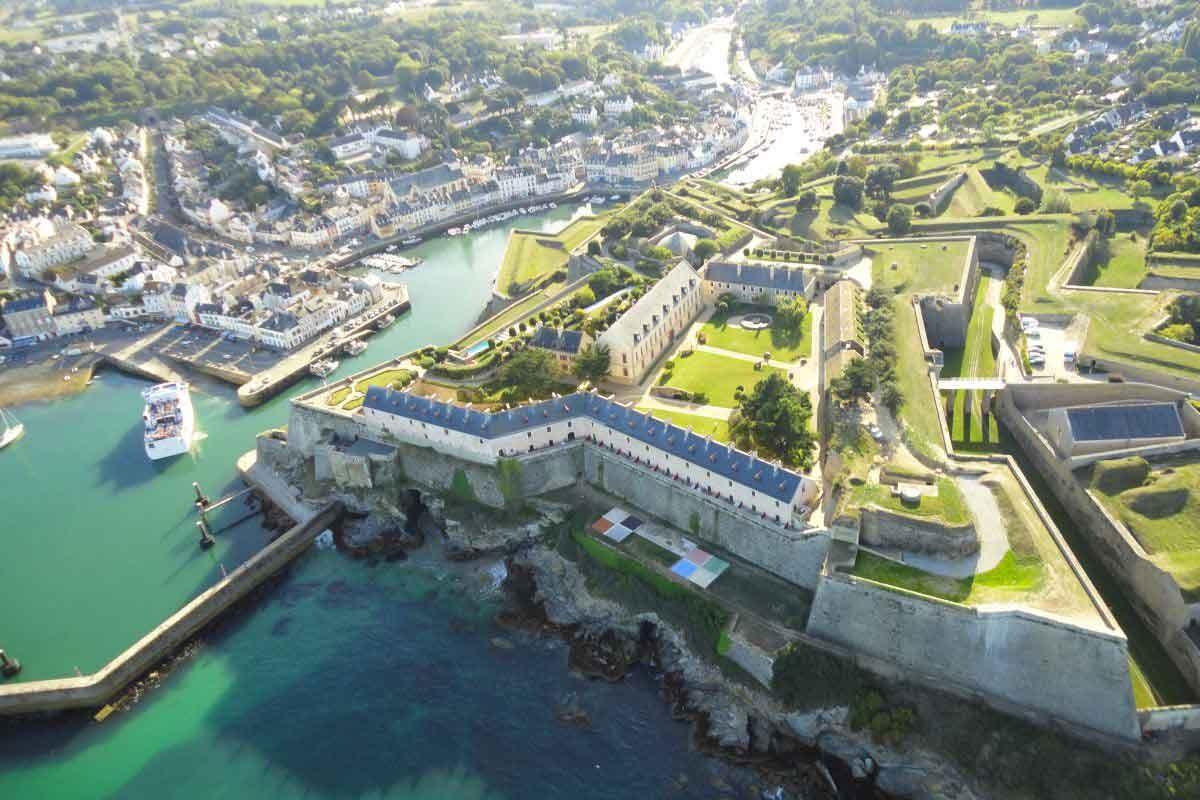 Citadelle Vauban Belle Ile  Promo 6 Nuits avec diner  partir de 469
