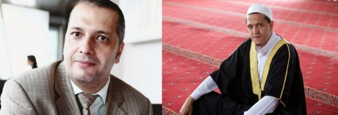 Farid Hannache, ancien conseiller de Hassen Chalghoumi, à gauche.