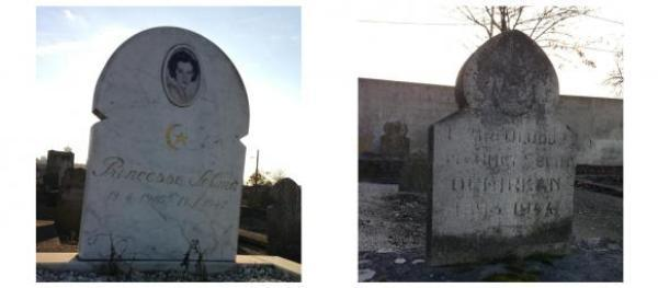 L'état déplorable des tombes ottomanes en France