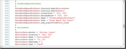 Generated Script Next Build