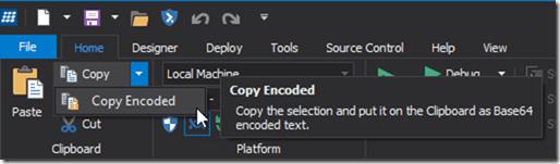 Copy Encoded
