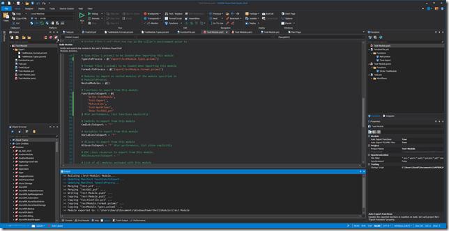 Module - Build - Auto Export