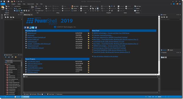 PowerShell Studio 2019