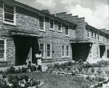 Mixed-Income Housing - Historically, many public housing developments in Chicago, such as the Altgeld Gardens Housing Project (pictured here), were row homes.
