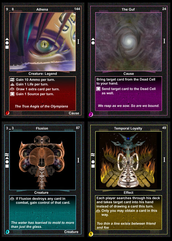SapioSoul Mike Reilly Game Design CCG