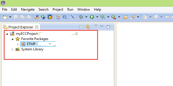ABAP Project in Project Explorer