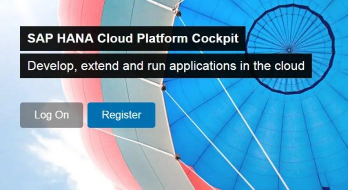 SAP HANA Trial OnDemand Cloud Platform