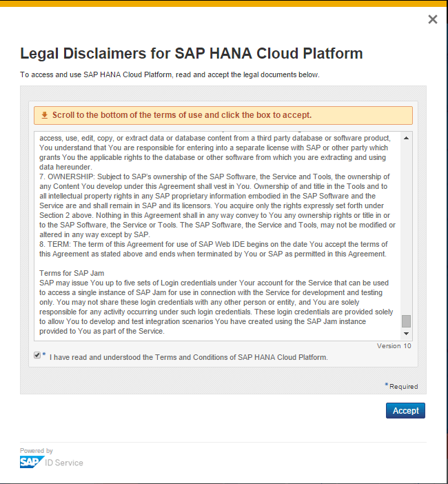 SAP HCP Legal Disclaimers