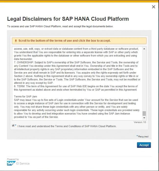 SAP HCP Legal Disclaimers