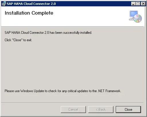 SAP Cloud Connector Step-7