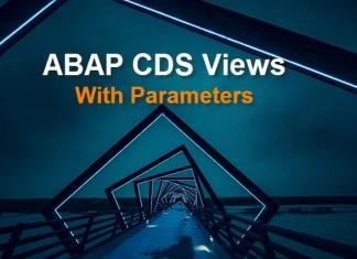 ABAP CDS Views
