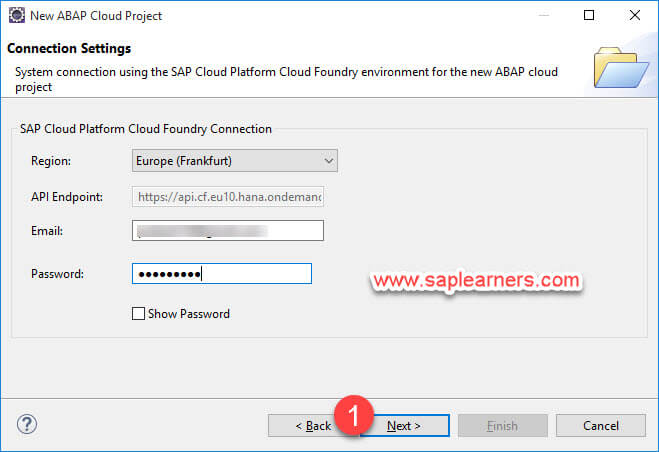 ABAP in Cloud project Step7