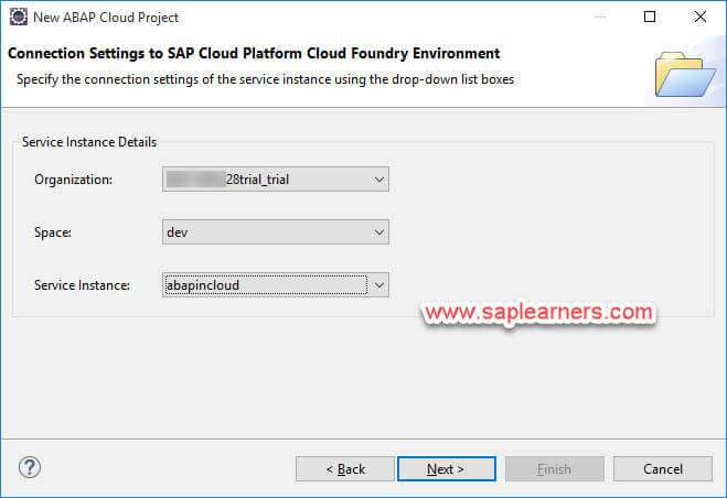 ABAP in Cloud project Step8