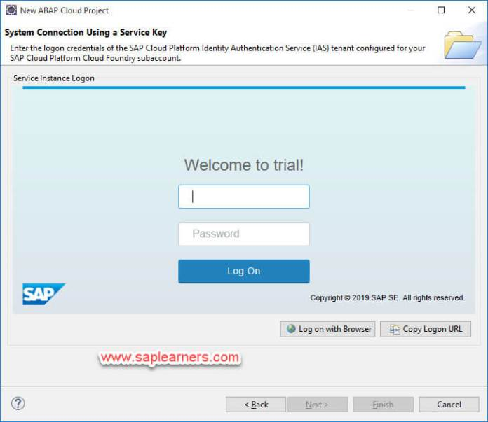 ABAP in Cloud project Step9