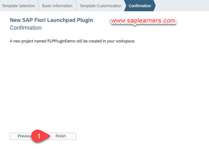 SAP Fiori Launchpad Plugin Step4