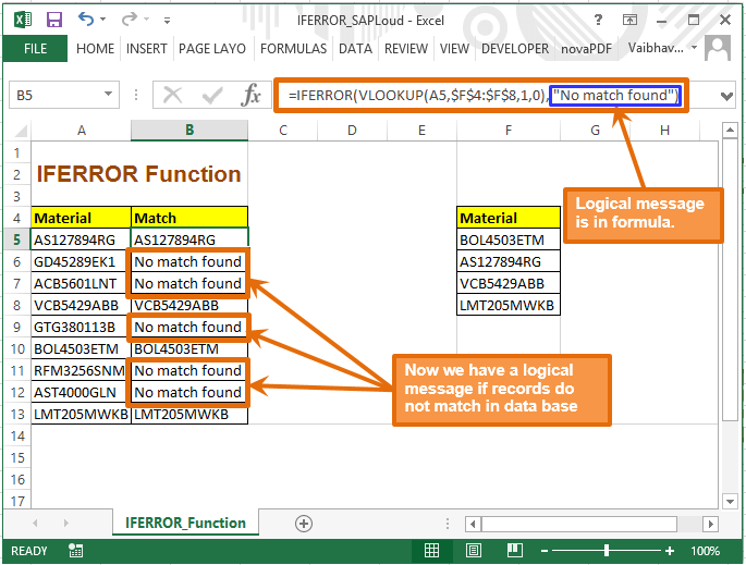 How to avoid NA REF in your sheet  Learn IFERROR in excel