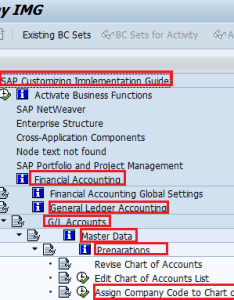 Assign company code to chart of accounts also in sap training tutorials rh saponlinetutorials