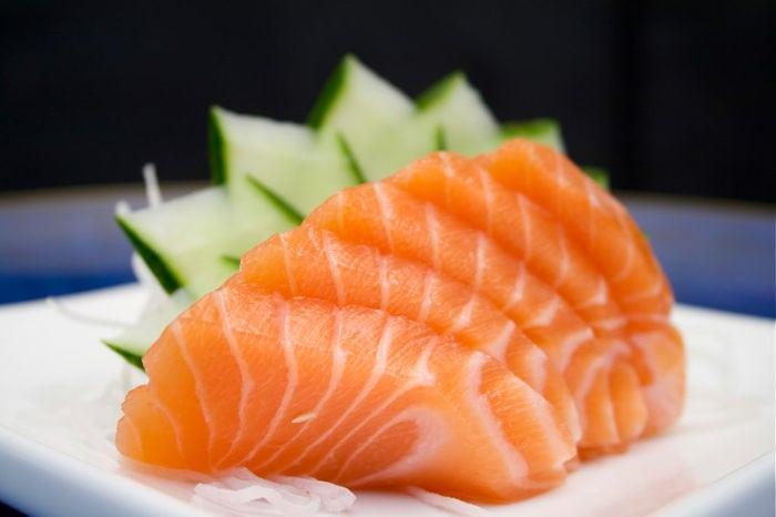 Cucina Giapponese Salmone