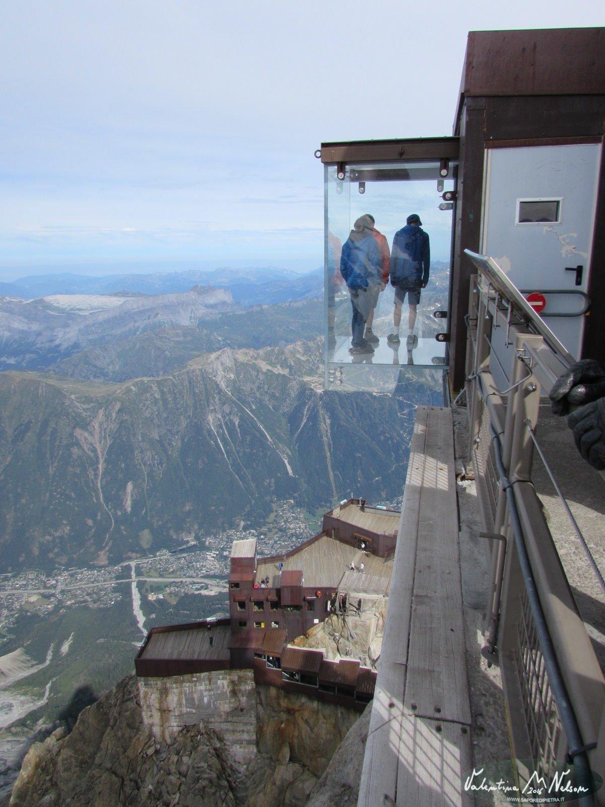 Da Chamonix allAiguilleduMidi Monte Bianco  Sapore di Pietra