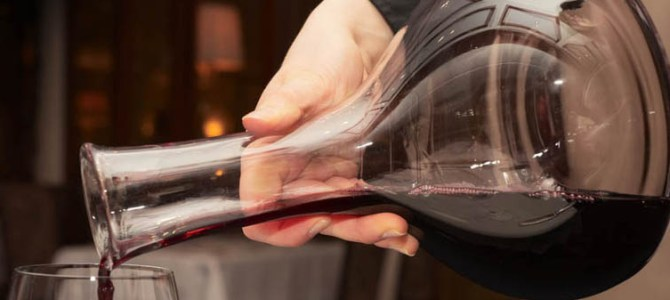 Como e Quando Decantar um Vinho