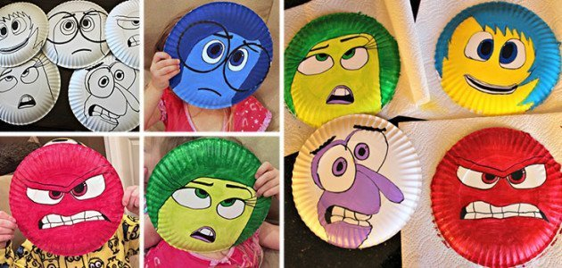 manualidades_con_platos_desechables_personajes_pelicula_del_reves_inside_out