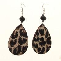 Leopard Print Earrings - Sapphiredawnjewelry