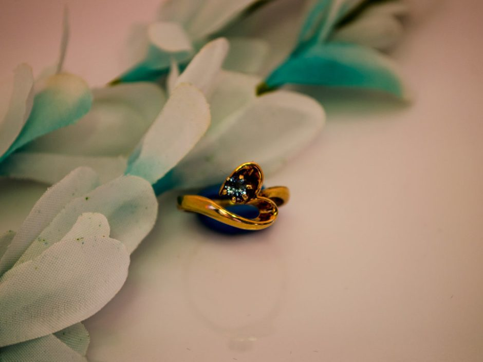 Gold Sapphire Ring